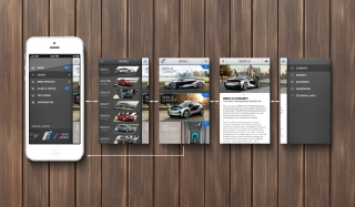 BMW app concept by JustD