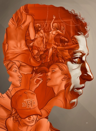 The Social Network by Martin Ansin