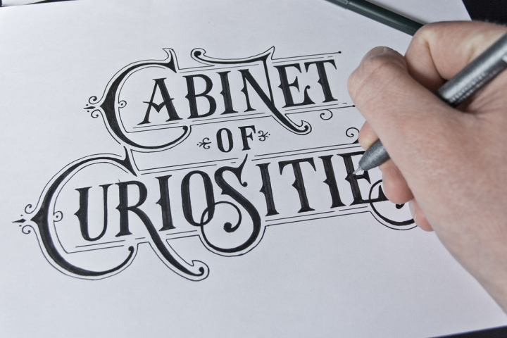 Hand Lettering III by Tobias Saul