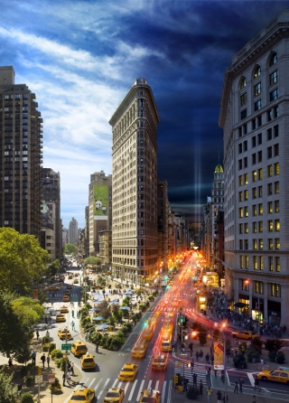 NYC's Day and Night - Flatiron