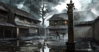 Concept art for Ninja Assassin