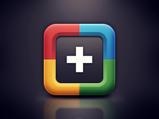 Google+ iOS Icon by Alvin Thong
