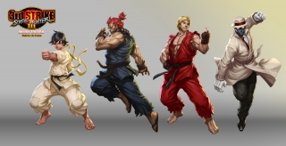 Street Fighter III OE Art 1