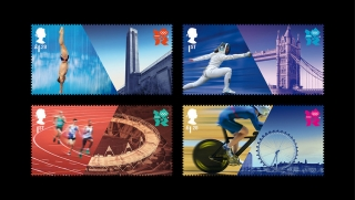 Welcome Olympic 2012 stamp by Royal Mail
