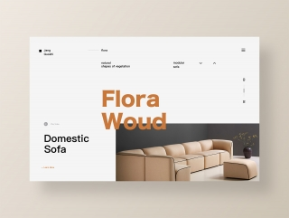 Domestic Sofa/Website Animation Concept by Janguz for JKG