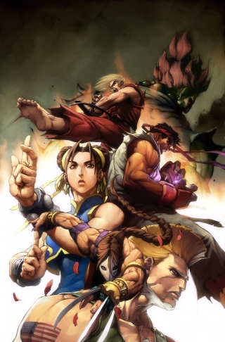 Street Fighter by alvinlee