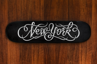 New York Skateboard by Simon Alander